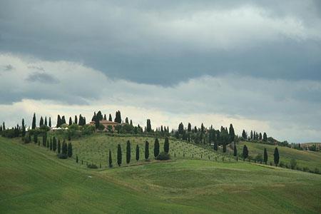 photo paysage de toscane