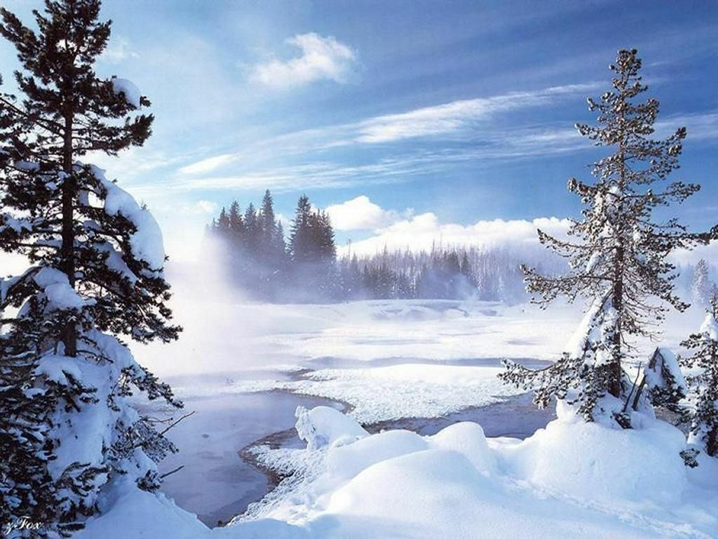 photo paysage hiver gratuit 4