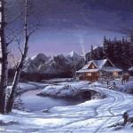 photo paysage hiver gratuit