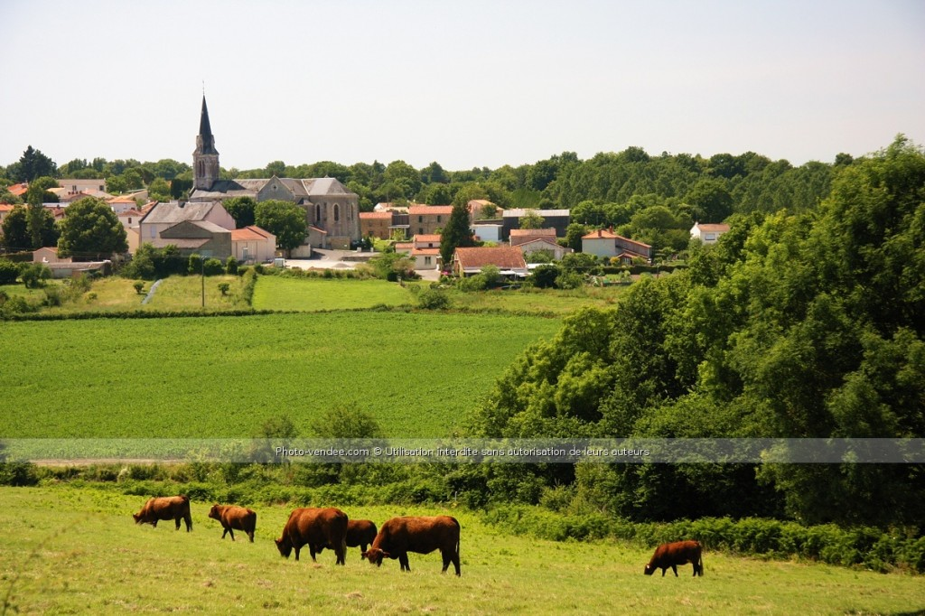 photo paysage village campagne