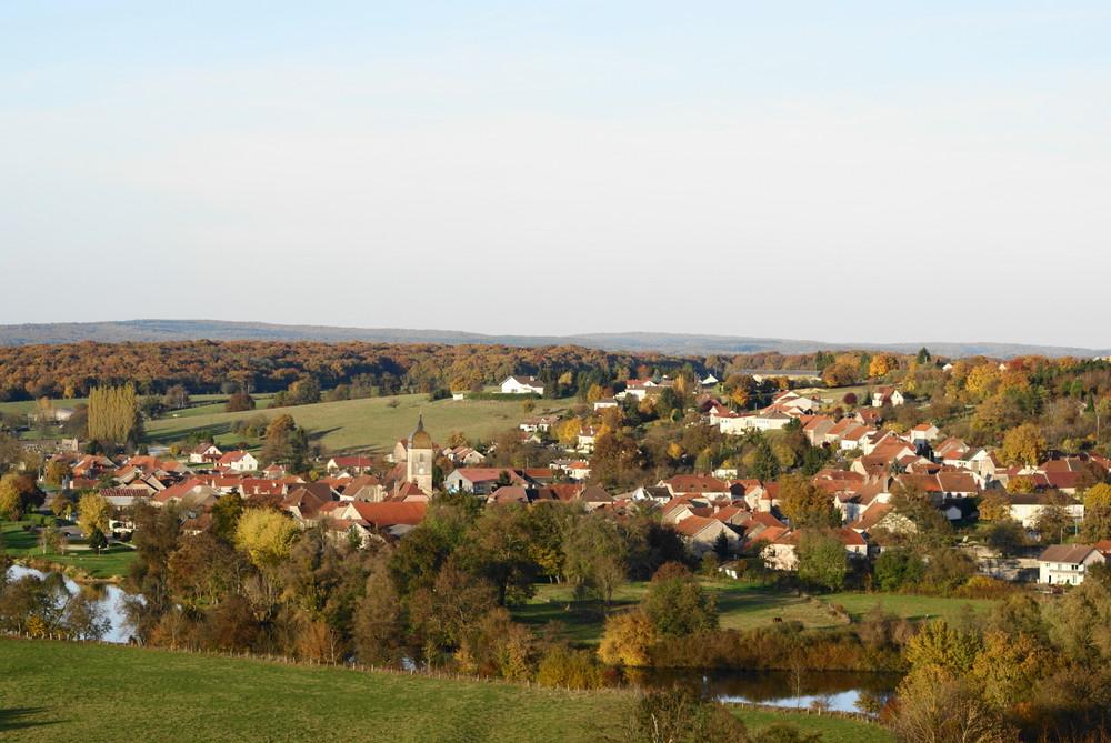 photo paysage village campagne